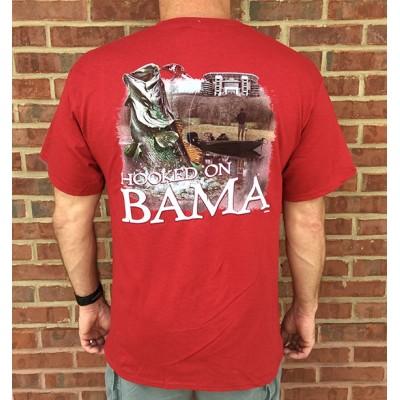 Hooked Bama Crimson Shirt