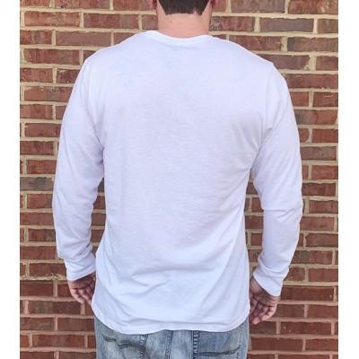 L/S White Bama 47 Brand