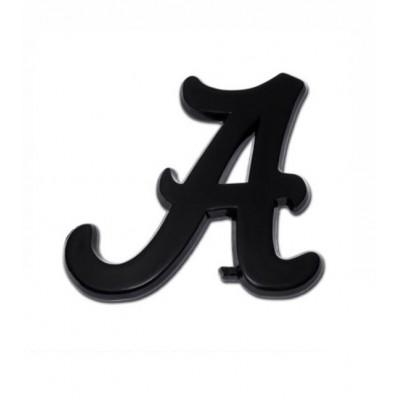Black Script A Emblem
