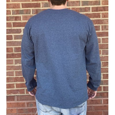 L/S Y'all Dont Grey Shirt