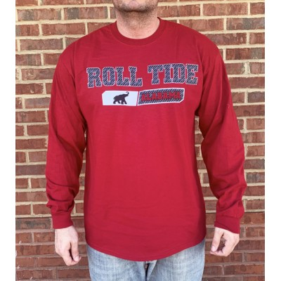 L/S Roll Tide Fusion Shirt