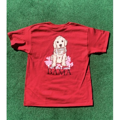 Crimson Puppy Youth Shirt