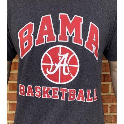 Bama Hoops Grey Shirt