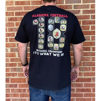 18 Rings Black Shirt