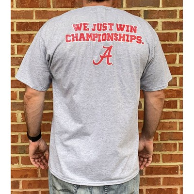 Champ School Grey Shirt