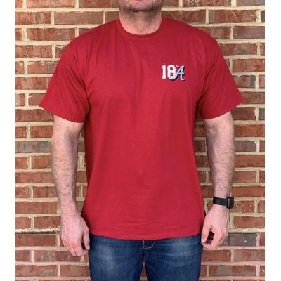 18 Rings Crimson Shirt