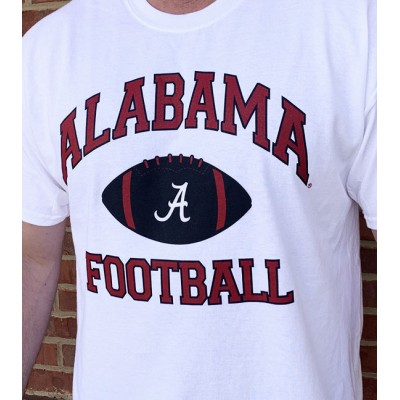 AL White Football Shirt