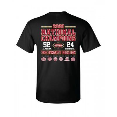 S/S Black Adult Scoreshirt