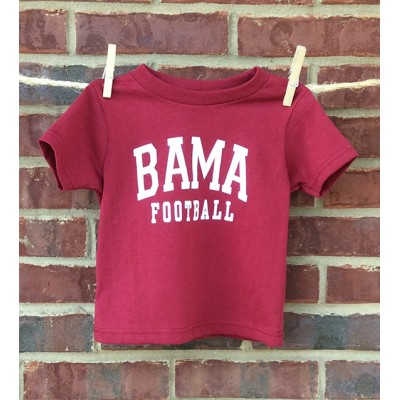 Football Red Toddler Shirt