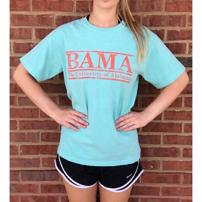Mint Bama Comfort Colors