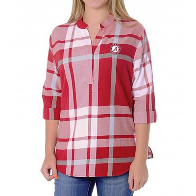 Plaid Bama Tunic Top