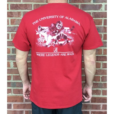 Bama Legends Crimson Tee