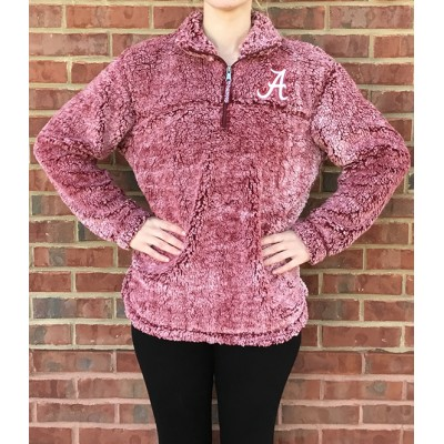 Bama Crimson Sherpa Fleece