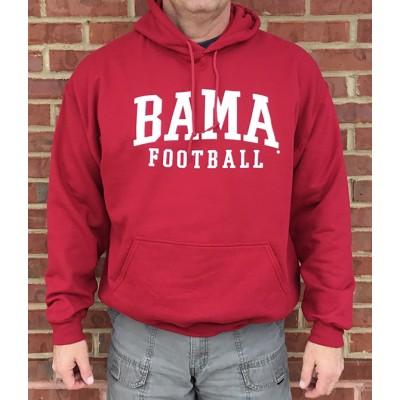 Bama Football Crimson Hoodie