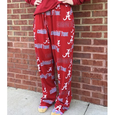 Bama Crimson Pajama Pants