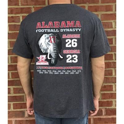 S/S Charcoal Adult Scoreshirt