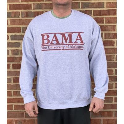 Bama Grey Bar Sweatshirt