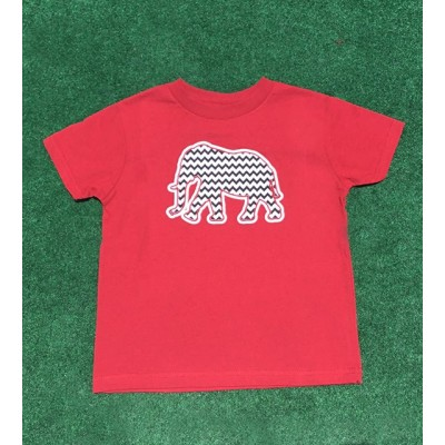 Mascot Toddler Chevron Shirt