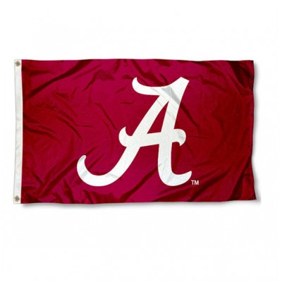 Bama Crimson 3'x5' Flag
