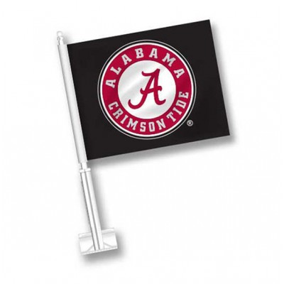 Bama Black Circle Flag