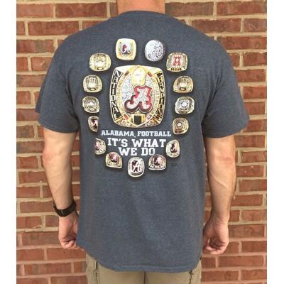 16 Rings Charcoal Shirt