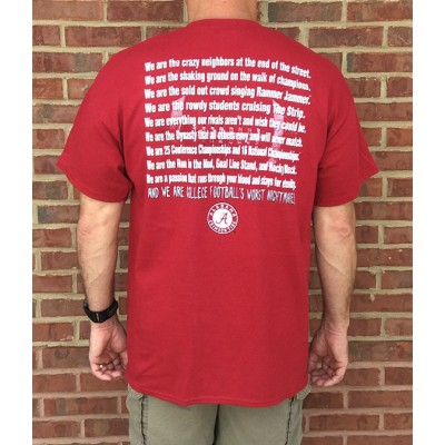 Red Nightmare Bama Shirt
