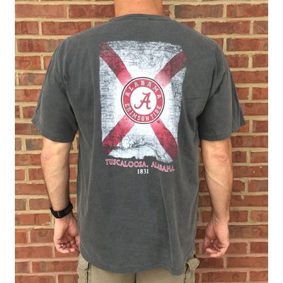 Alabama Map Comfort Colors