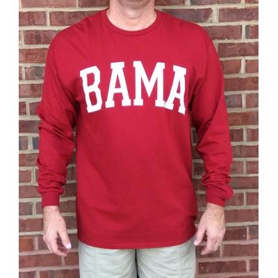 L/S Bama Crimson Shirt