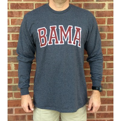 L/S Bama Grey Shirt