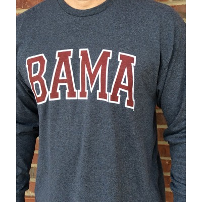 L/S Bama Grey Shirt