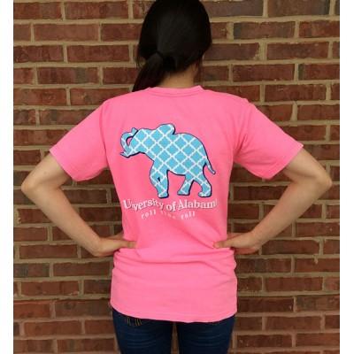 Pink Elephant Comfort Colors