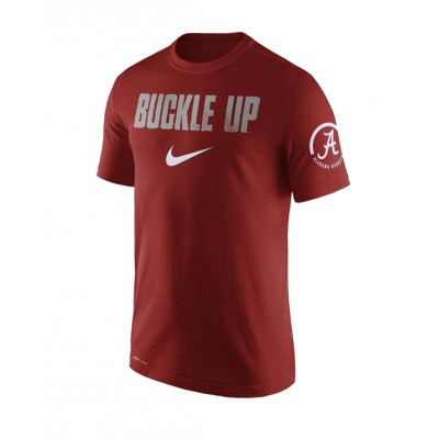 Buckle Up Crimson Shirt