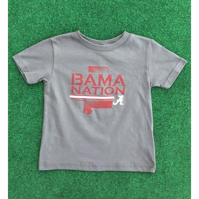 Bama Nation Grey Toddler
