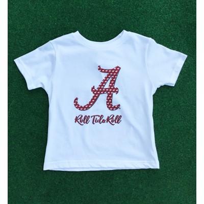 Sweet White Toddler Shirt