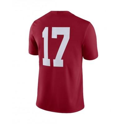 #17 Adult Crimson Jersey