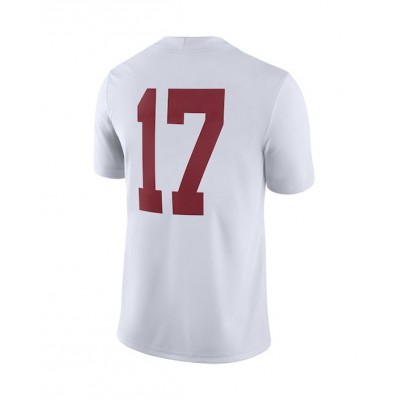 #17 White Toddler Jersey