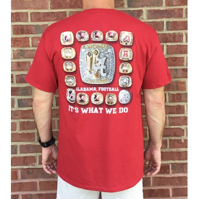 17 Rings Crimson Shirt