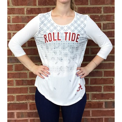 Roll Tide Crystal White