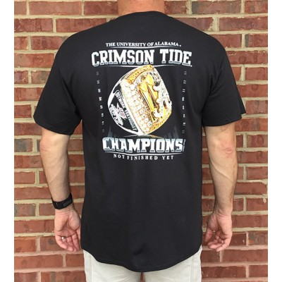 Champs Ring Black Shirt