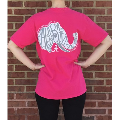 Swirly Elephant Comfort Colors