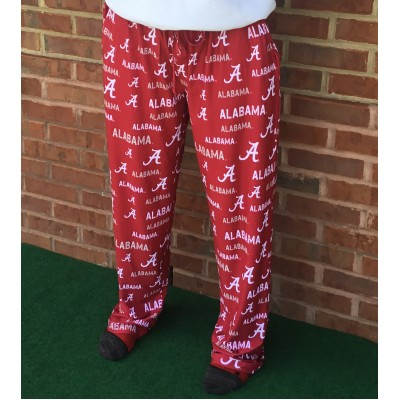 Bama Logos Pajama Pants