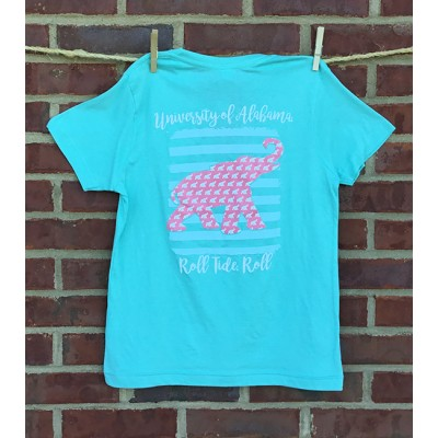 Youth Mint Elephant Shirt