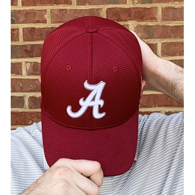 Crimson Logo Stretch Hat