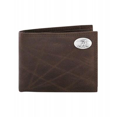 AL Brown Bi-Fold Wallets