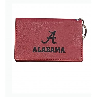 AL Red Wallet Keychain