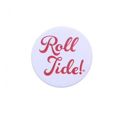 White Roll Tide Button