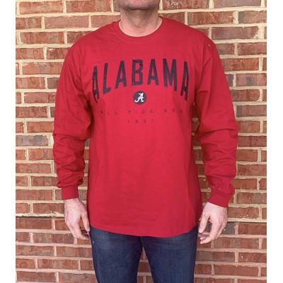 LS Crimson Arch Shirt