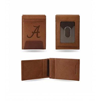 AL Brown Front Pocket Wallet