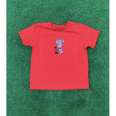 #1 Crimson Toddler Shirt
