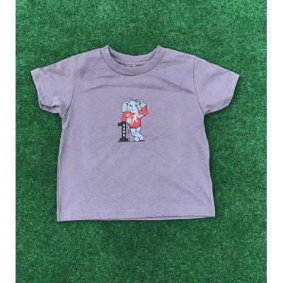 #1 Grey Toddler Shirt